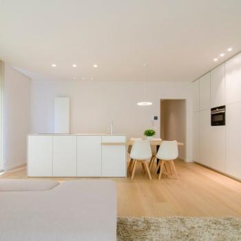 Totaalrenovatie appartement Oostduinkerke - Bad