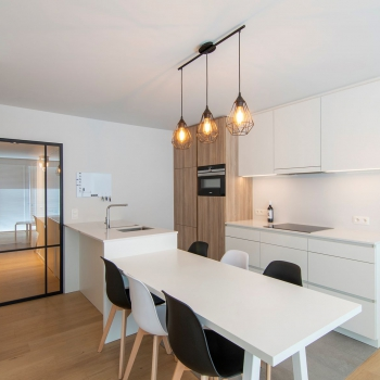 Totaalrenovatie appartement Nieuwpoort Franslaan