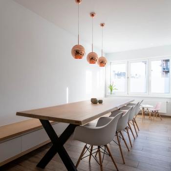 Woonkamer, keuken & inkom woning Oostduinkerke
