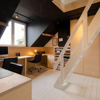 Renovatie bureau restaurant Nieuwpoort