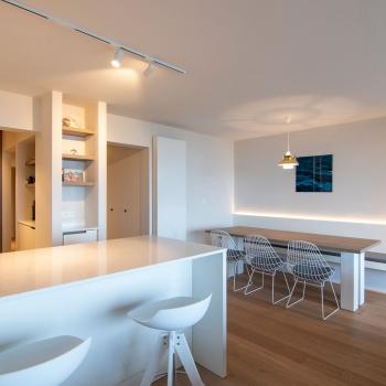 Totaalrenovatie appartement Zeedijk Nieuwpoort
