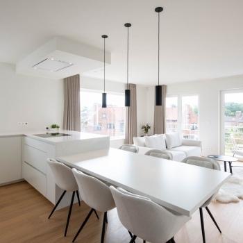 Renovatie appartement Oostduinkerke - strakke eenvoud