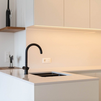 Totaalrenovatie tweede verblijf (appartement) Oostduinkerke Groendijk
