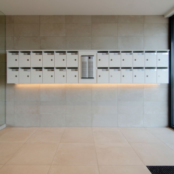 renovatie inkomhal Residentie Westdiep Oostduinkerke